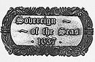 5621/02S Sovereign of the Seas Nameplate 70x40mm