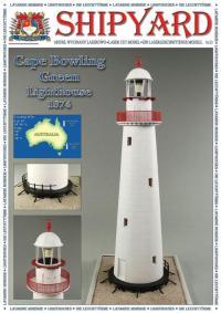 Cape Bowling Green Lighthouse 1874 1:72 - Shipyard ML061 - Laser Cut Model