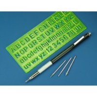 Holder, Stencil & 4 Diamond Engravers PFR8200