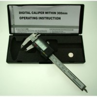 Metal Digital Calipers w/Case PGA1100