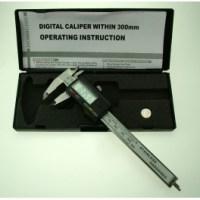 Metal Digital Calipers w/Case PGA1100
