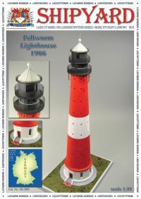 Pellworm Lighthouse 1906 1:87 (HO) - Shipyard ML090 - Laser Cut Model
