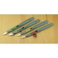Retractable Safety Knife-#10a grey PKN3216/10A
