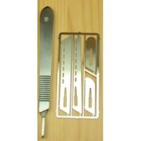 Scalpel Saw Handle w/4 Blades PKN0008/K