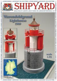 Vierendehlgrund Lighthouse 1909 1:87 (HO) - Shipyard ML092 - Laser Cut Model