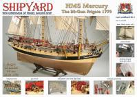 HMS Mercury 1779 1:72 - Shipyard ZL006 Laser Cardboard Kit