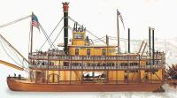 Artesania Latina King of the Mississippi wood ship kit