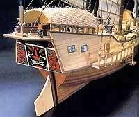 Artesania Latina Red Dragon wood ship