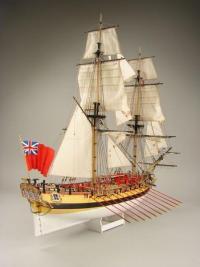 HMS Wolf, 1754 1:72 - Shipyard ZL029 Laser Cardboard Kit