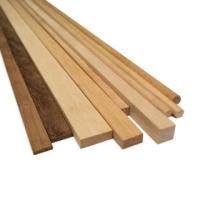 AM2460/07 Walnut Wood Strips 1.5mm x 5mm (10)