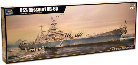 USS Missouri BB-63