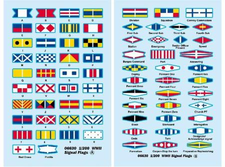 WWII Signal Flags