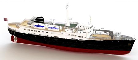 MS Finnmarken - Modell-Tech kit by Turkmodel