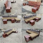 Diy Pallet Outdoor Couch And Tables Wooden Pallet Ideas