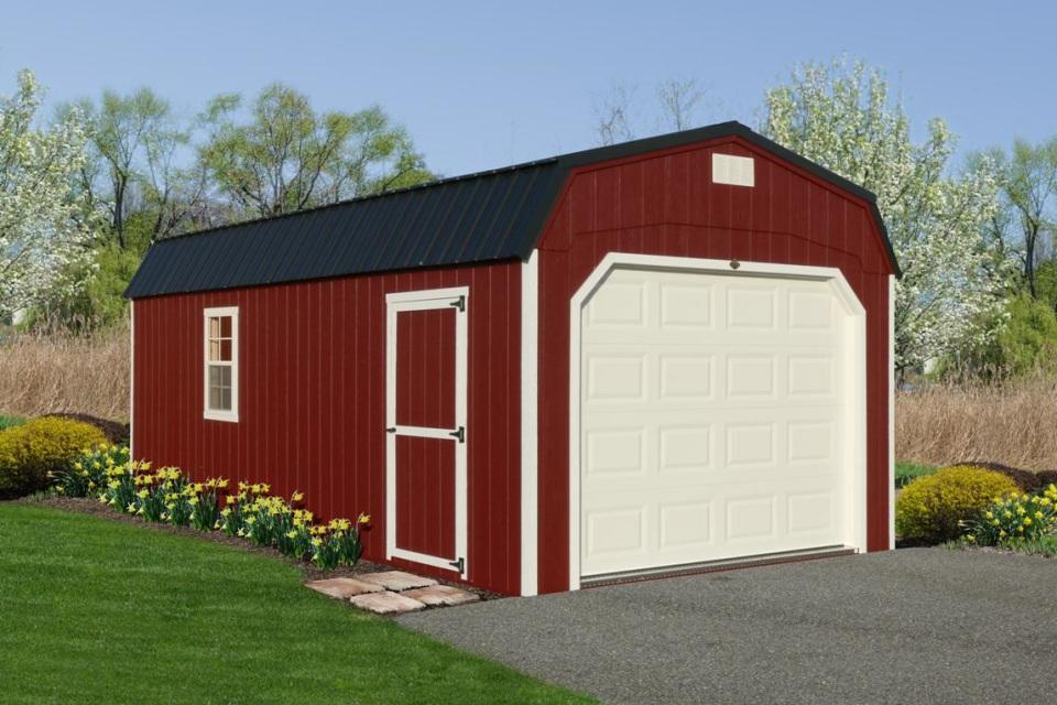 Standard Collection - Hi-Wall Barn Garage