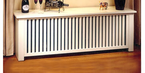 wood radiator cover plans