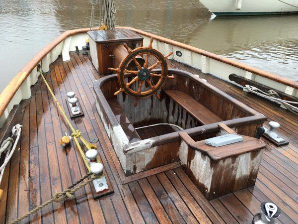 Replica Bristol Channel Pilot Cutter Wooden Yacht For Sale