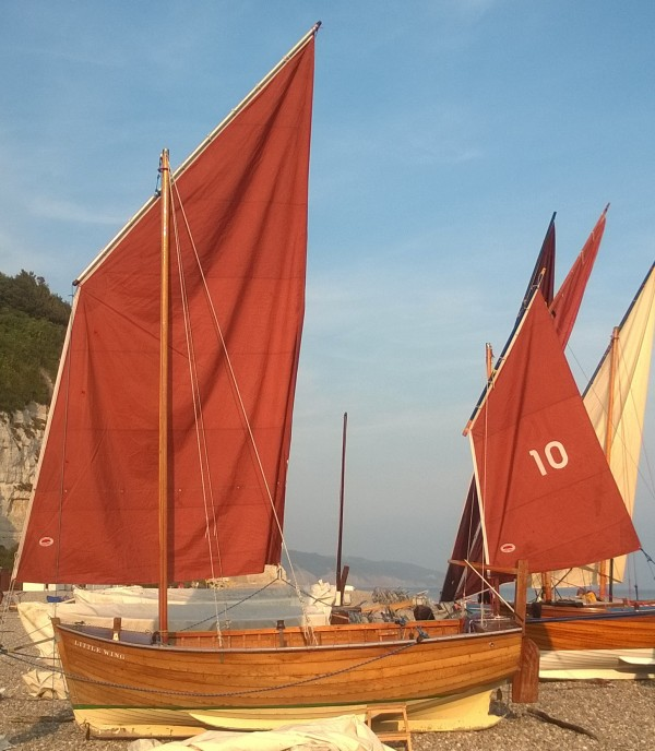 Beer Wooden Sailing Lugger For Sale