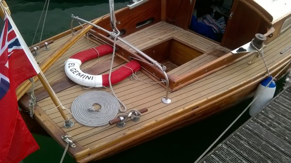 Folkboat Wooden Sailing Yacht For Sale