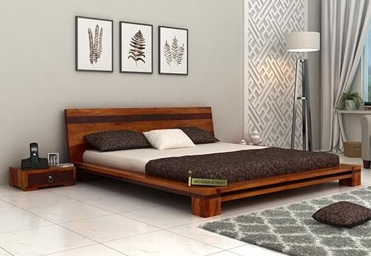 Wooden Double Bed Online In India