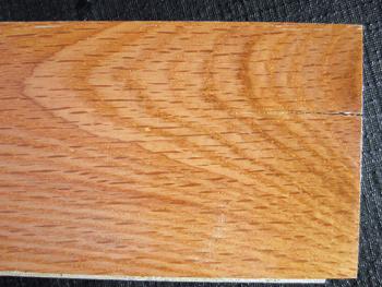 photo of prefinished wood flooring