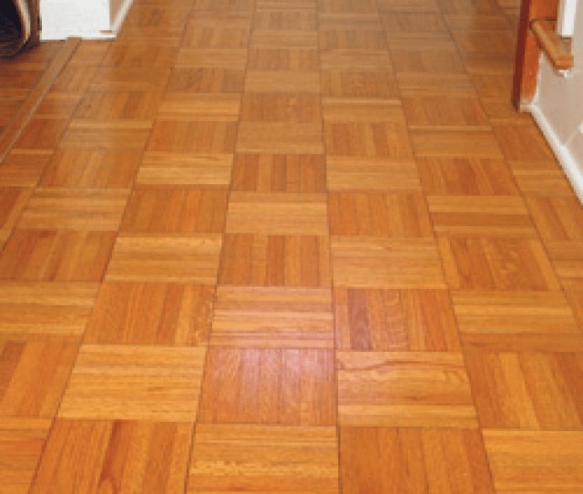 Some Contractors Are Intimidated By Sanding And Finishing Parquet Flooring But Once You Know The Correct Process Theres Really Nothing To It