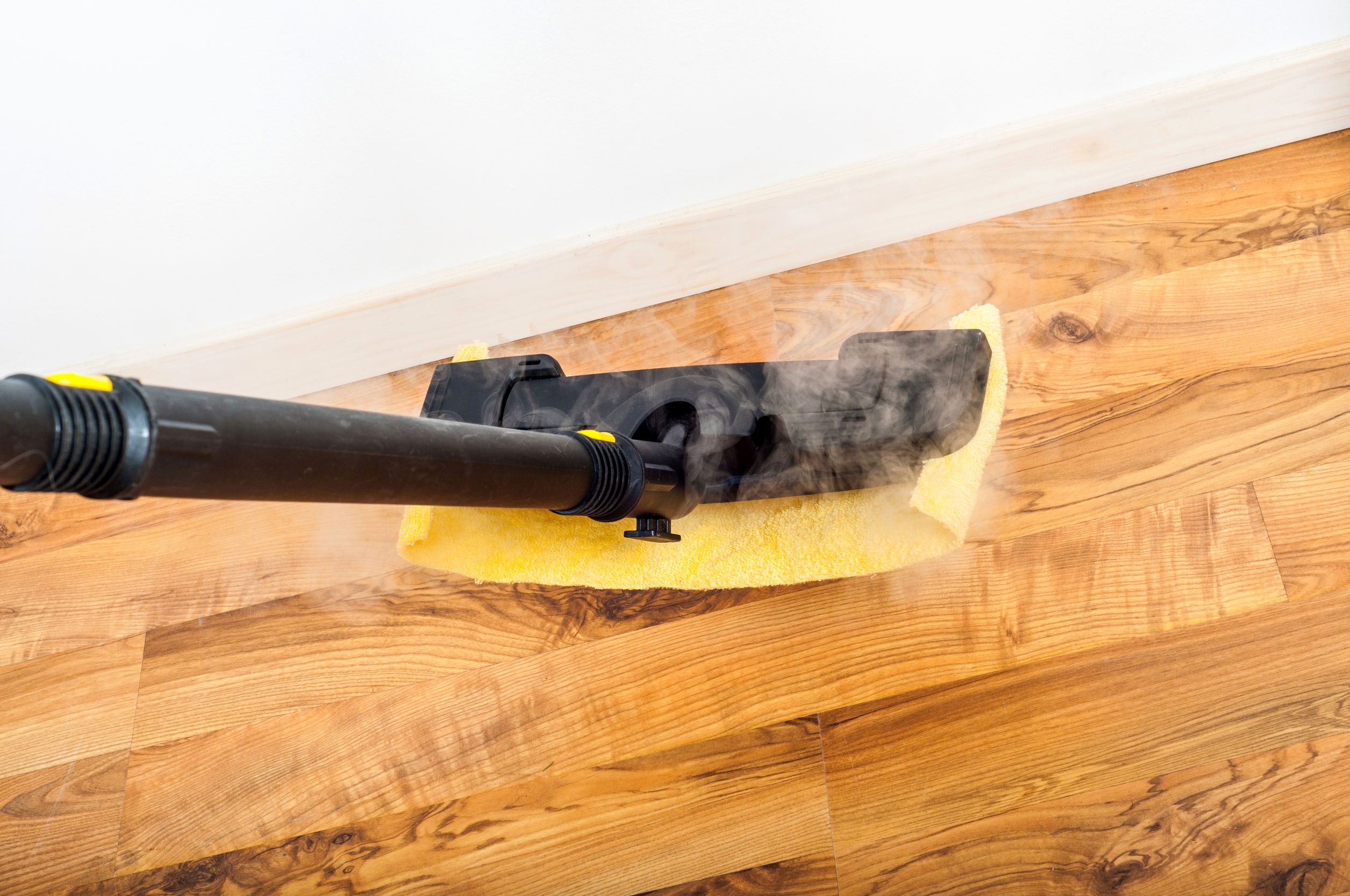 Product Review: Steam Mops On Wood Floors