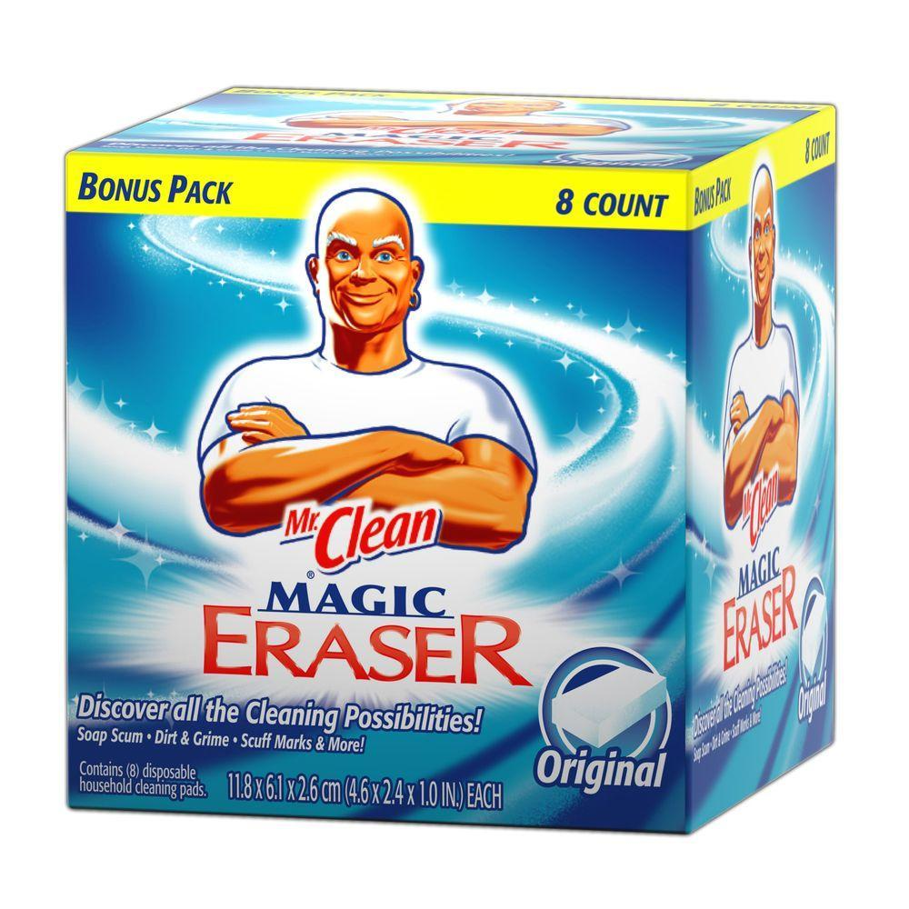 Miracle eraser strip and sand