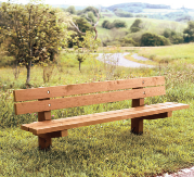 """""""Hawthorne"""" approved bench"""