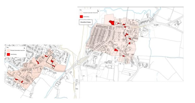 Woodford & Hinton Conservation Areas