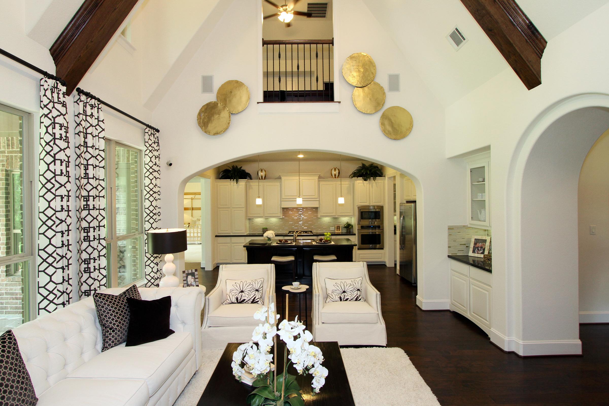 Best Kitchen Gallery: Woodforest Highland Luxury Model Home of Model Homes Texas on rachelxblog.com