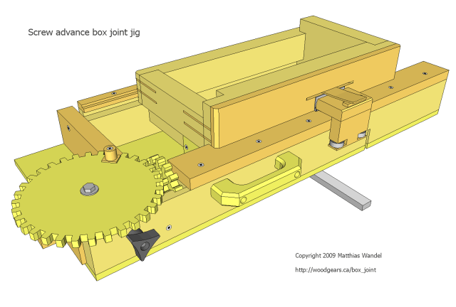 Box Joint Jig Plan Woodworking