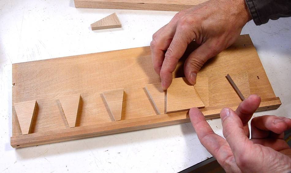 picture relating to Printable Dovetail Template identified as dovetail template for marking tails. dovetail template