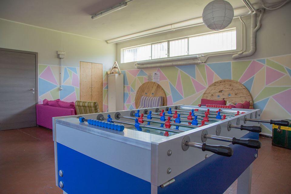 sala giochi spazio eventi woodhuose