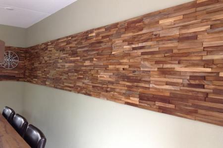 Beste Interieur Ontwerp » houten wand in badkamer | Interieur Ontwerp