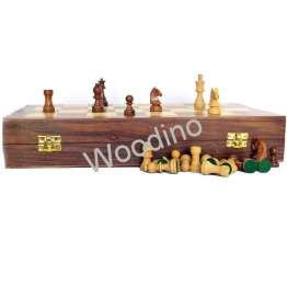 Woodino Wooden 12 Inch Chess