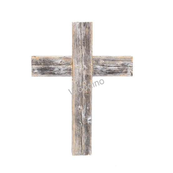 Woodino Wooden Jesus Cross Wall Hanging