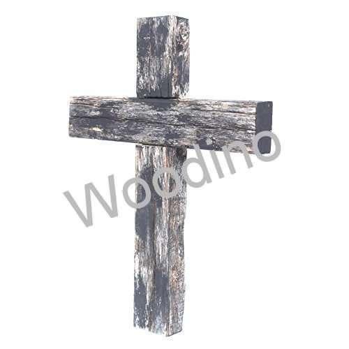 Woodino Wood Cross Antique Wall Decor
