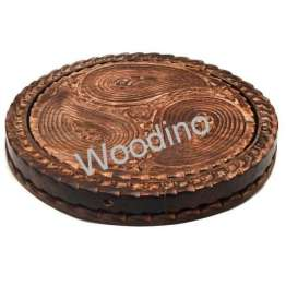 Woodino Wooden Antique Mango Shaped Basket