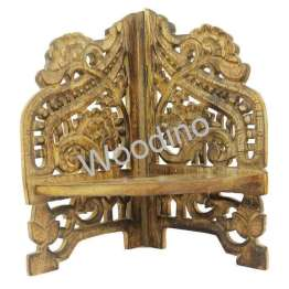 Woodino Mango Wood Small Table Corner Organizer