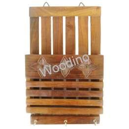 Woodino Strip & decortication Wall Latter Rack