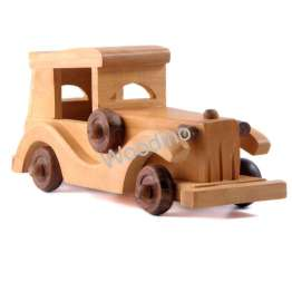 Woodino Haldu Wood Vintage Car Model Toy