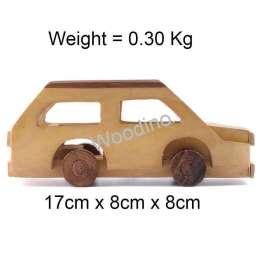 Woodino Haldu Wood Old Maruti Car Model Toy