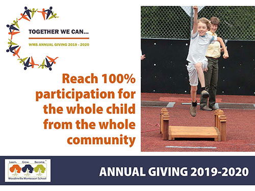 Give to Annual Giving fund