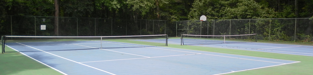 Tennis Courts, Basketball Court