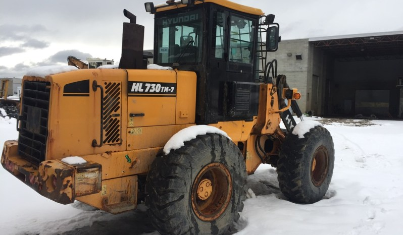 Hyundai HL730-7TM Wheel Loader – SOLD full