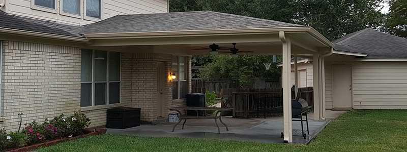 outdoor patio covers woodlands