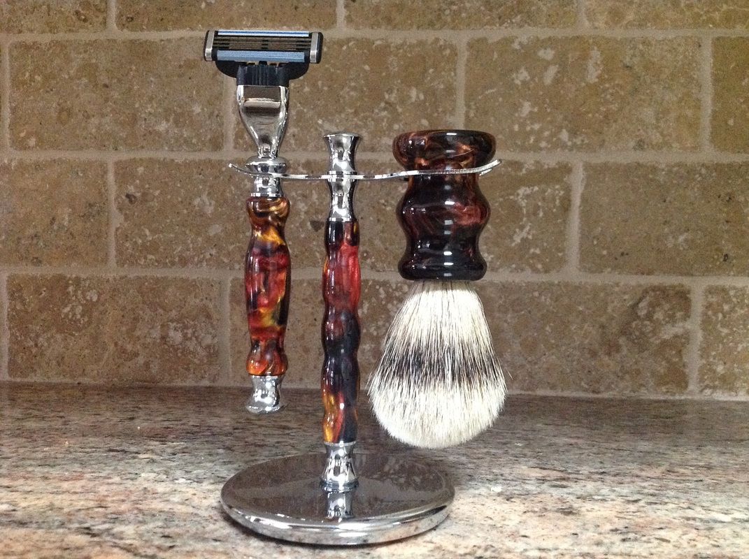 Elegant Shaving Set Perfect for Father's Day