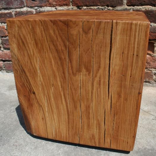 block of wood coffee table 40 cm x 40 cm x 40 cm