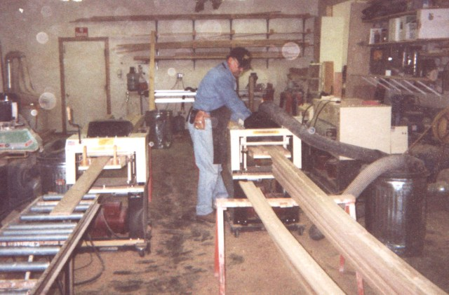 "Business expansion: Top-speed molding with no tear-out ""Since getting our Woodmaster, we've expanded into custom moldings, flooring, wainscoting, mantles, and other projects too numerous to mention. I have the best machine going. Your service is prompt, courteous, and knowledgeable. I recently ran 1,000 feet of oak hand rail. What a surprise to be able to mill it at 100% speed without a single instance of tear-out even though some of the grain was very ""wild."" We are so impressed that we'll be converting all our knives to this head. The time we saved on the first job paid for the head and the final product exceeds our rigid quality control every time."""